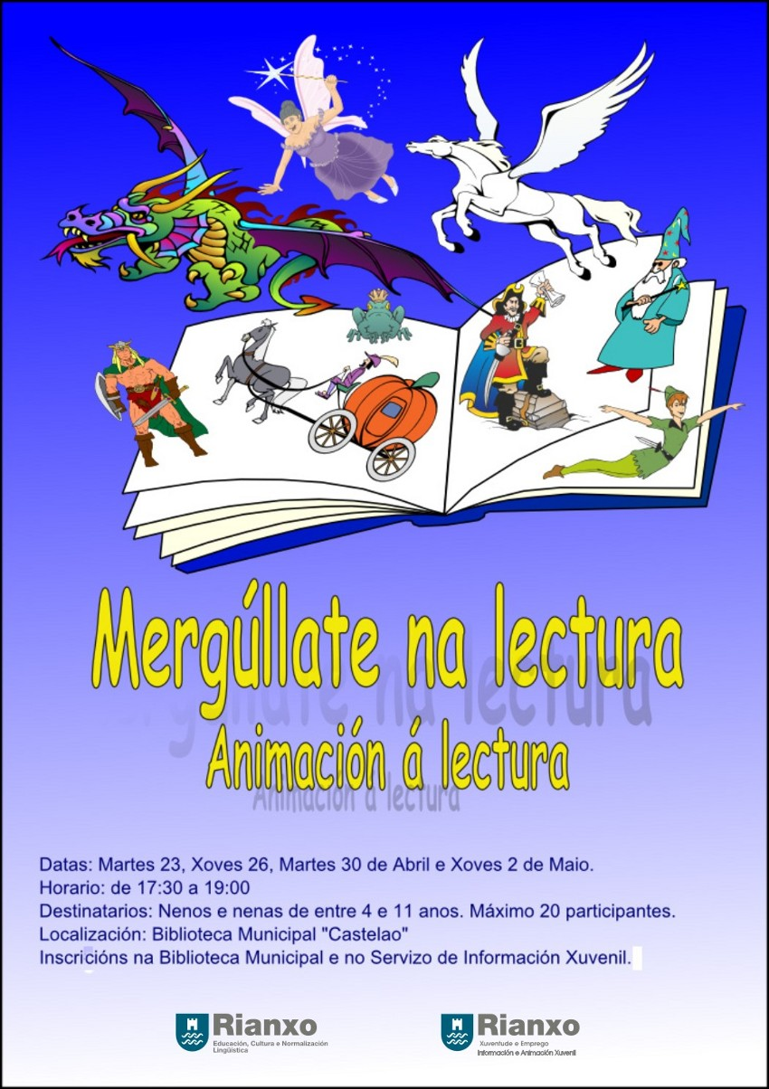 Mergúllate na lectura